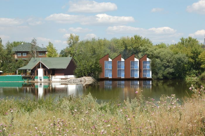 SUBICA, HOTEL, ZUBAU, UKRAINE, KHIROVOGRAD, ARCHITEKTUR, INTERNATIONAL, HAUSER, SEE, LAKE, HOLZBAU
